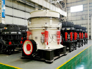 China Granite Basalt Symons Cone Crusher Machine Equipment
