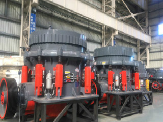 China Cs High Efficient Cone Crushing Equipment For Mine