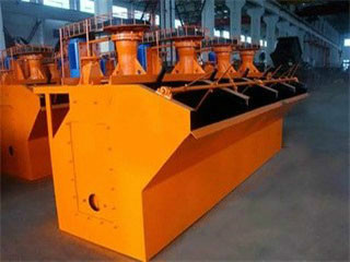 Rock Flotation Process Machine Principle