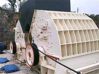 Old Stone Crusher In La Algeria