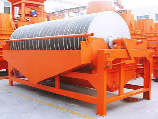 China Drum Type Magnetic Separator For Wet Iron Ore