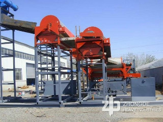 China Wet High Gradient Permanent Magnetic Drum Separator