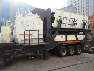China Portable Rock Mining Crushing Machine Mobile Stone
