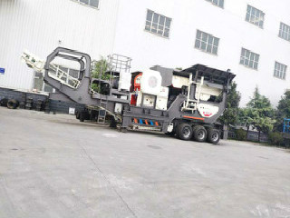 Mobile Crusher Machine For Manganese Mining Plant