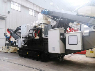 Mobile Jaw Crusher Plant For Copper Ore Iron Ore Processing