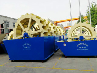 Sand Screening And Washing Machine