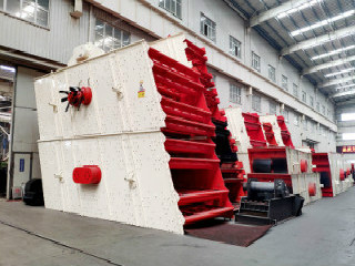 Vibrating Screen Sand And Gravel Cgm Mining Application